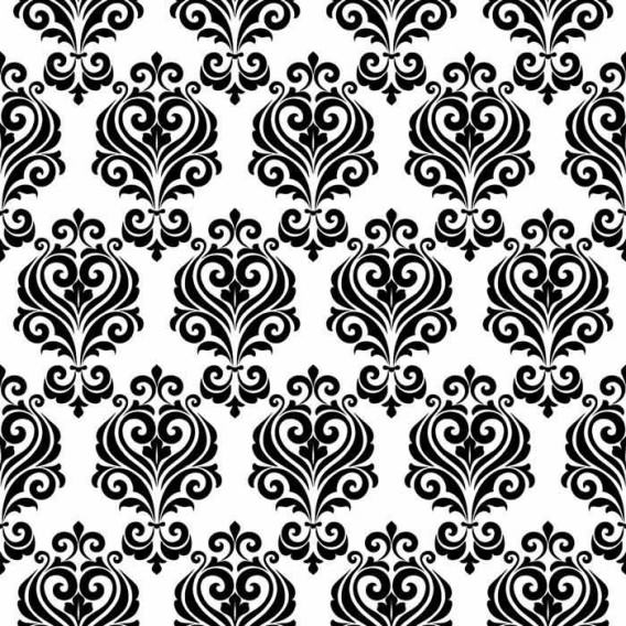 """Ornament Tile Colibrì with abstract motif type """"B2"""". Available in 3 different colours."""