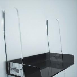 Scaletta con 5 vassoi in plexiglass | 12 colori | Easy