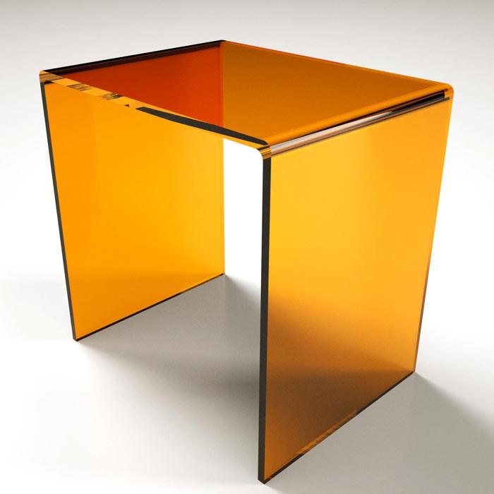 Sgabello a ponte in plexiglass 10 colori - Accessori bagno plexiglass ...