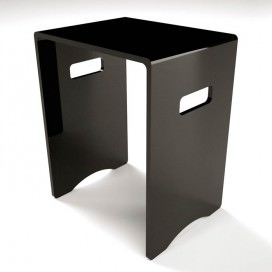 Stool | Plexiglass | 10 colors available | Comodo Collection