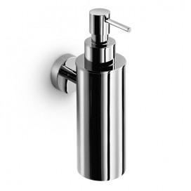 Dispenser dosasapone a parete | Ottone cromato | 180 mL | Serie Baketo