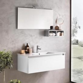 Mobile bagno 100 cm | Composizione Ibiza 14 | Disponibile in 2 colori | Rubinetteria esclusa