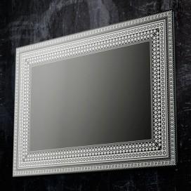Specchio con decori satinati | 4 misure disponibili | Progetto 4.0