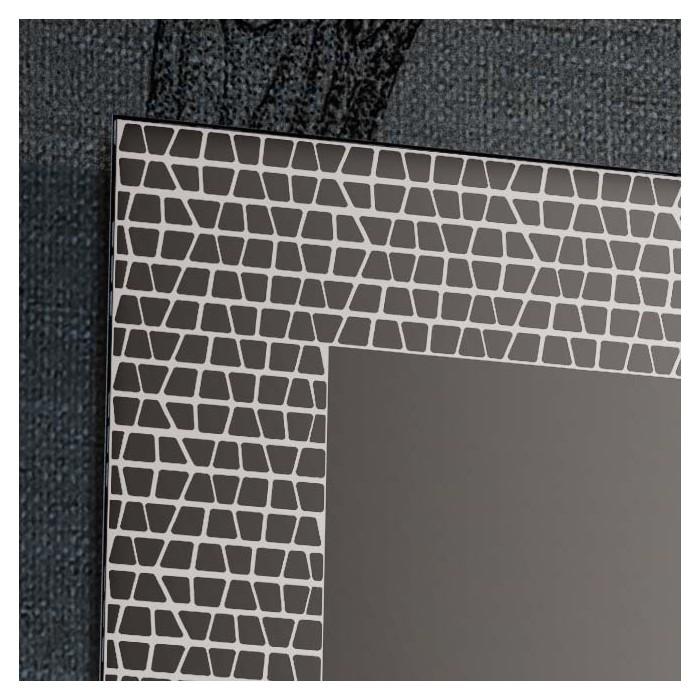 Specchio Con Decori Satinati Mosaico 4 Misure Progetto 4 0