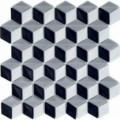 Mosaic   Glass paste   3D effect   Sheet size 260x270 mm   Enamel Frame Collection