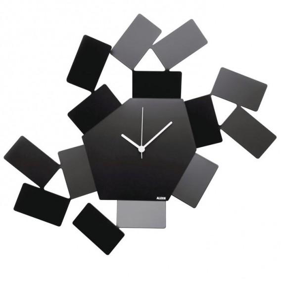 Orologio da parete in acciaio   La Stanza dello Scirocco   Alessi