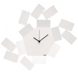 Steel wall clock | La Stanza dello Scirocco | Alessi