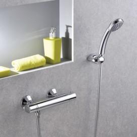 Miscelatore termostatico doccia cromato | EQS | Paffoni