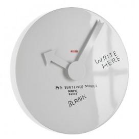 "Orologio da parete ""Blank wall clock"" | Martí Guixé | Alessi"
