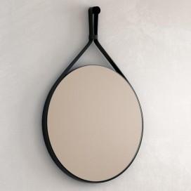 Specchio con cornice in ecopelle | Agorà | Progetto 4.0