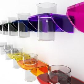 Porta bicchiere da parete | Plexiglass | Dea | Petrozzi