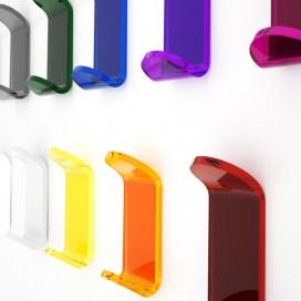Appendiabito | Plexiglass | Trasparente | Dea | Petrozzi