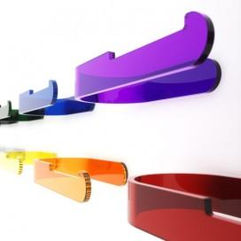 Porta rotolo da parete | Plexiglass | Dea | Petrozzi
