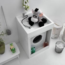 Mobile per lavanderia con serrandina | Lavacril On | Colavene