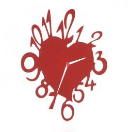 Orologio a forma di cuore • 18 colori disponibili • Petrozzi