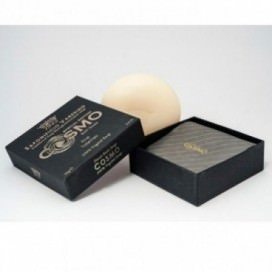 Soap 100% Vegetal achieved with natural products | Round shape | Weight 150 grams | Intense and firm scent