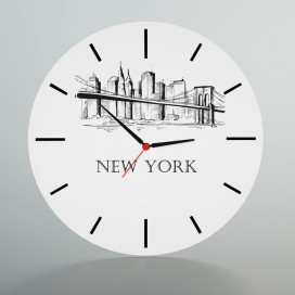 Orologio da parete città | NY | Londra | Parigi | Roma