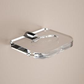 Portasapone | Plexiglass e ottone cromato | Lady | Petrozzi