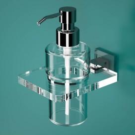 Portadispenser | Plexiglass | Trasparente | Cube | Petrozzi