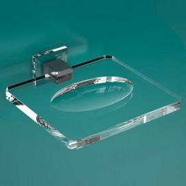 Portasapone | Plexiglass | Trasparente | Cube | Petrozzi