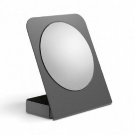Magnifying mirror with a container available in 5 different colors