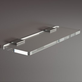 Towel holder | Plexiglass | Transparent | Cosmea Collection