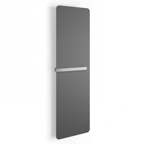Radiator ultra-thin wall mounted with towel warmer H 160 cm | Available in 2 colors