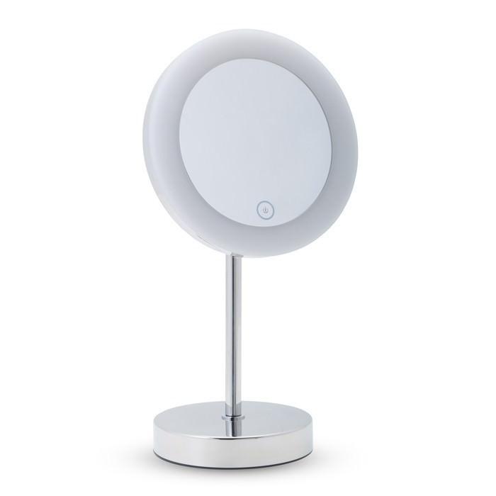 Specchio ingranditore con luce led da appoggio - Specchio ingranditore con luce ...