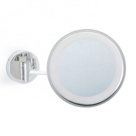 Specchi Ingranditori Per Bagno Con Luce.Specchio Ingranditore Con Luce Led A Parete Mobile