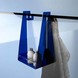 Mensola porta asciugamano appendibile ad 1 piano| Plexiglass | Colorato | Linea | Petrozzi
