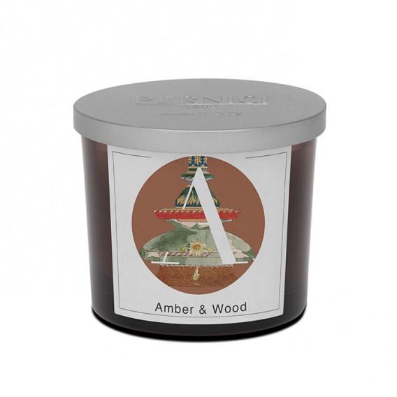 Candela profumata Amber & Wood   Elementi   Pernici