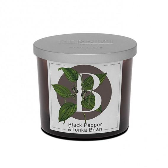 Black Pepper & Tonka Bean scented candle | Elementi | Pernici