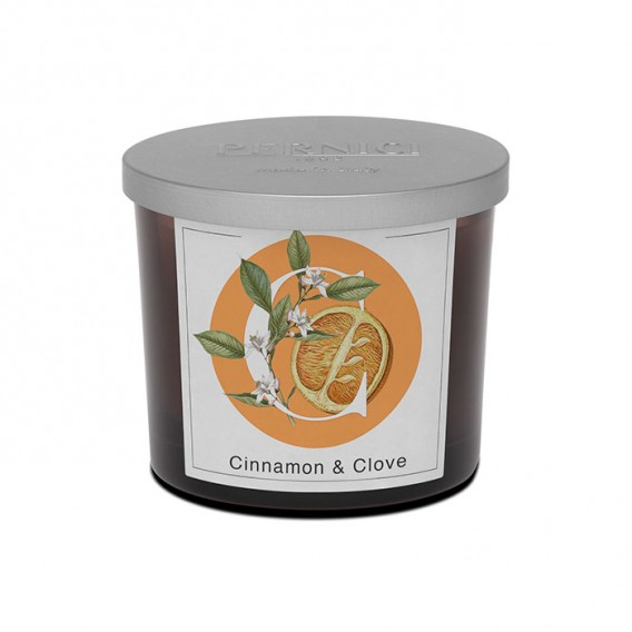 Cinnamon & Clove scented candle | Elementi | Pernici