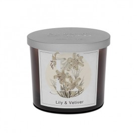 Lily & Vetiver scented candle | Elementi | Pernici