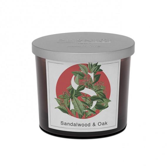 Sandalwood & Oak scented candle   Elementi   Pernici