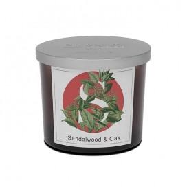 Sandalwood & Oak scented candle | Elementi | Pernici