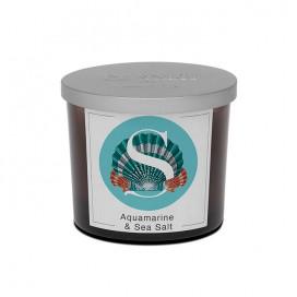 Acquamarine & Sea Salt scented candle | Elementi | Pernici