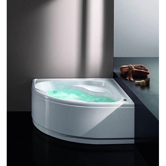 Vasca con telaio in acrilico no colonna di scarico - Bagno con vasca ad angolo ...