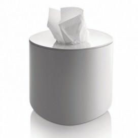 Porta fazzoletti di carta quadrato | Bianco | Serie BIRILLO by Alessi