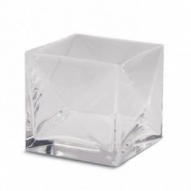 Glass to match the soap holder and dispenser | Crystal