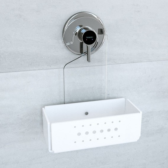 Shelf hanger for shower box   Plexiglass   7 colors available