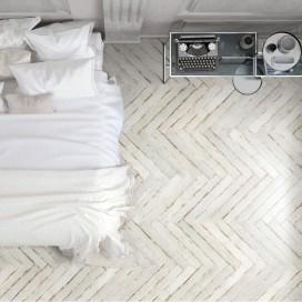 Piastrella effetto legno vissuto in gres porcellanato smaltato. Disponibile in 6 colori. F.to 10x70 - Collezione Silo Wood