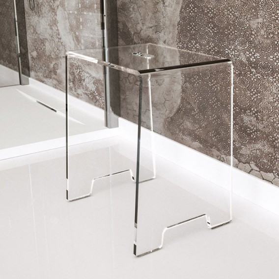 Stool   Plexiglass   10 colors available   Comodo Collection