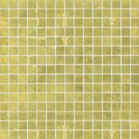 Mosaic | Glass paste | 4 variants available | Sheet size 327x327 mm | Gold Collection