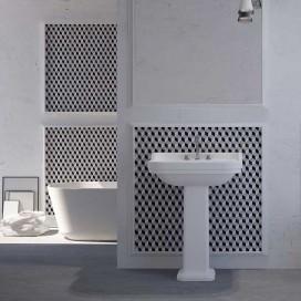Mosaico | Pasta di vetro | Effetto 3D | F.to Foglio 260x270 mm | Collezione Enamel Frame