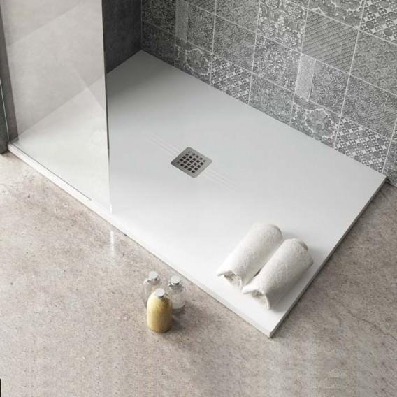 Piatto doccia in solidtech | Velvet Line | Rettangolare