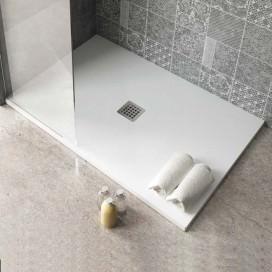 Piatto doccia Velvet Line in solidtech | H 3 cm. Disponibile in 3 colori e 6 misure. Collezione Feel