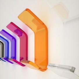 Appendiabito colorato in Plexiglass | 7 colori disponibili