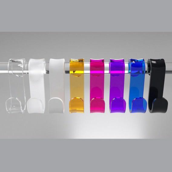 Gancio box doccia in 2 formati diversi | 7 colorazioni disponibili