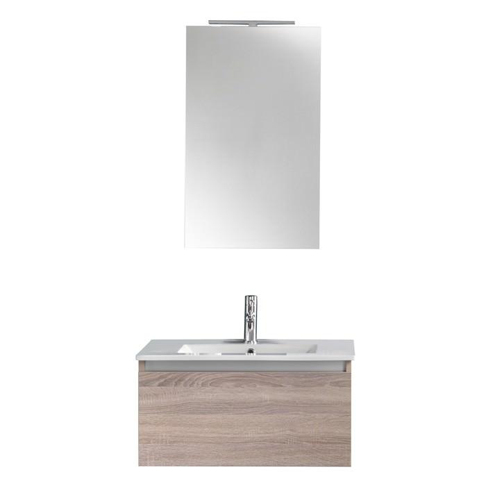 Mobile bagno con lavabo integrato collezione ibiza for Color tabacco mobili